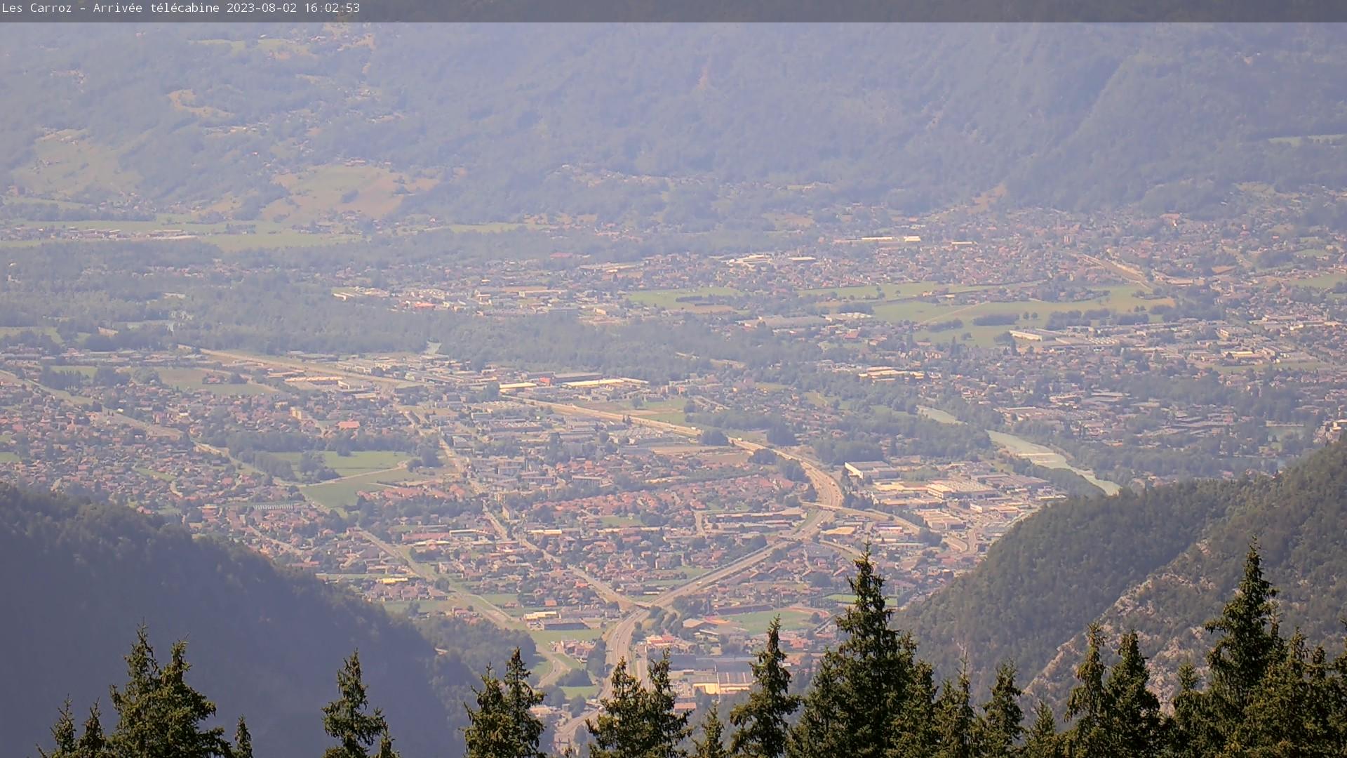 La vallée de l'Arve