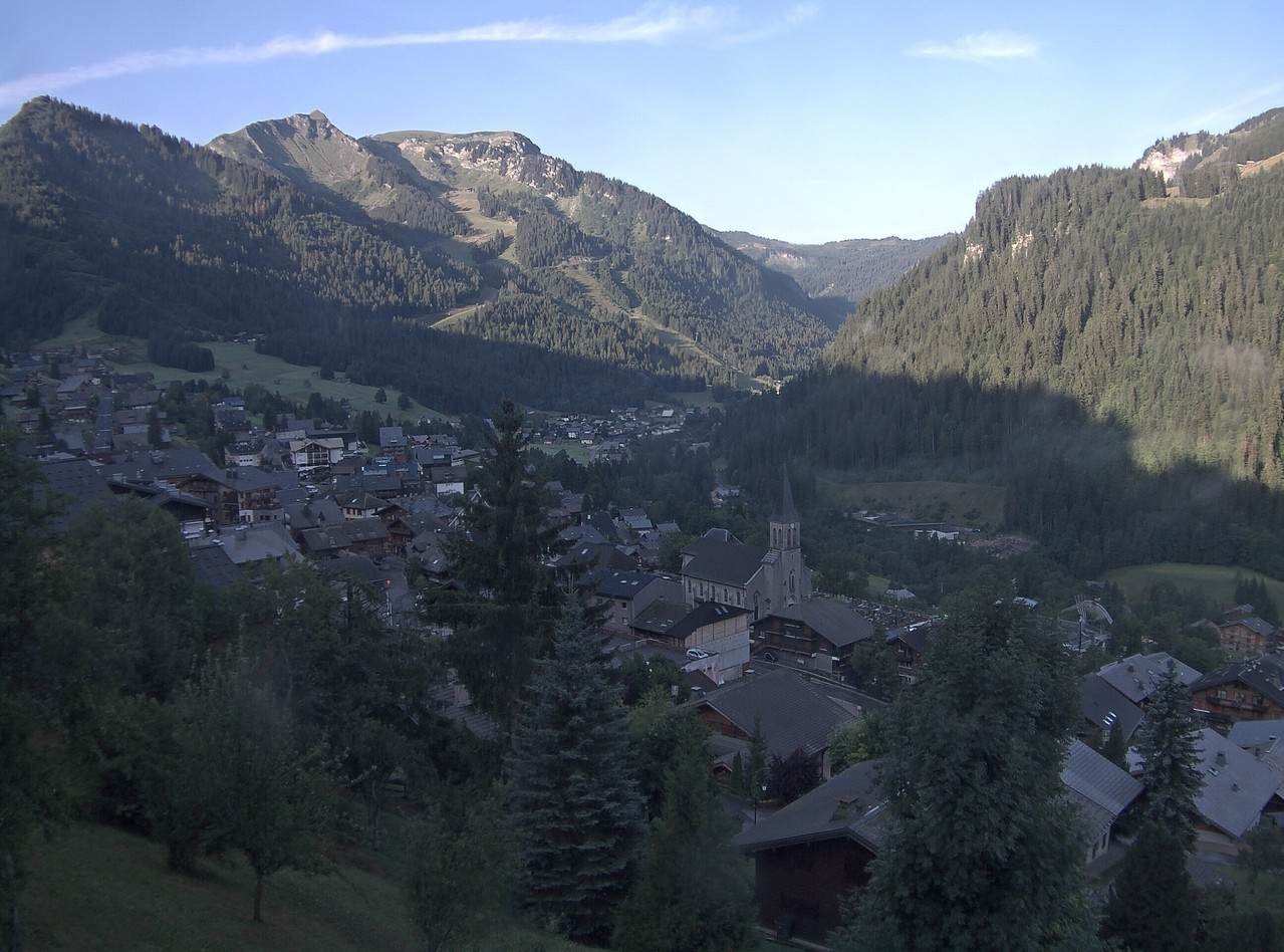 Webcam village Châtel