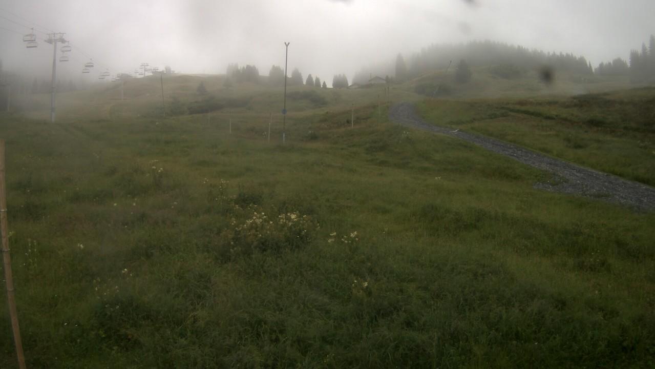 Webcam Morillon : sommet des pistes