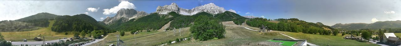 Webcam Gresse en Vercors - 1200m