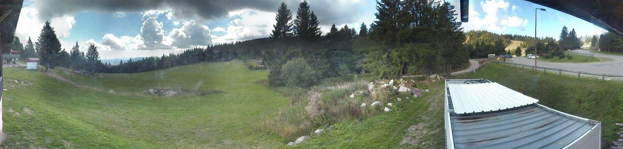 Lac blanc enneigement de l'espace nordique