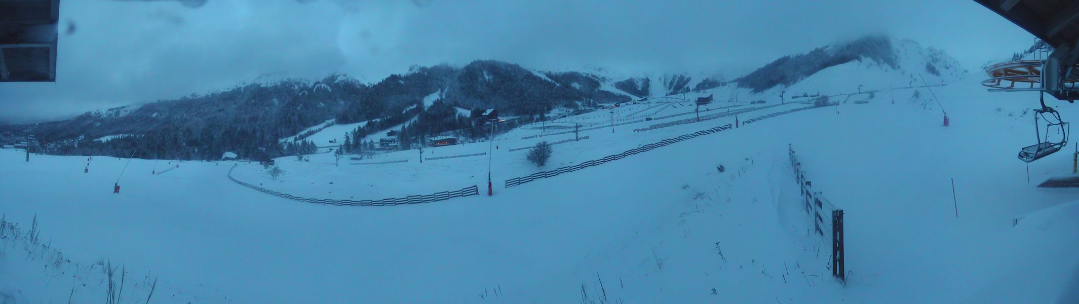 Webcam du bas des pistes