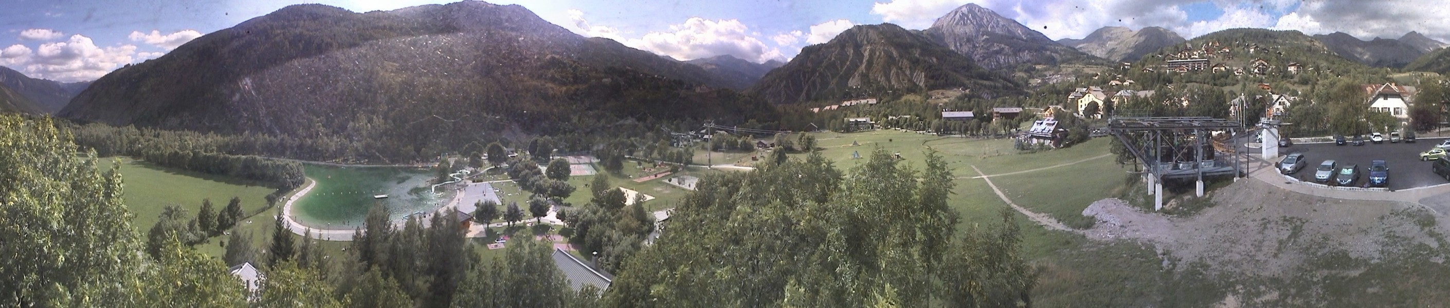webcam val d'allos allos le village