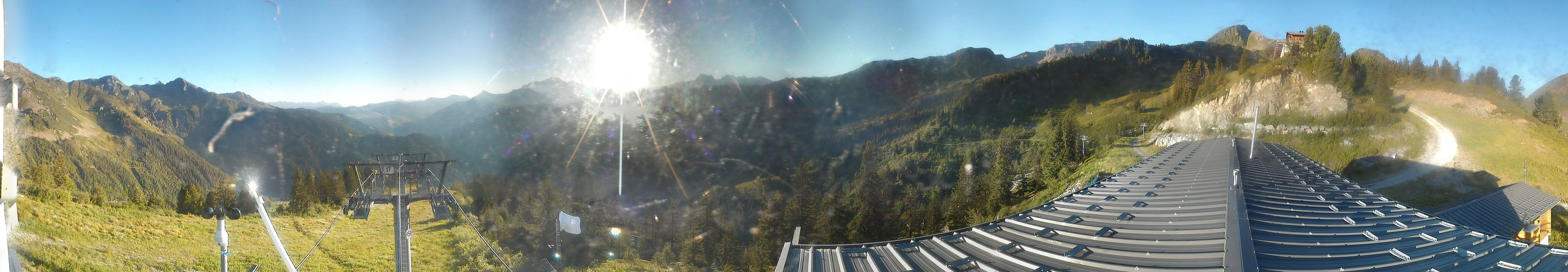 webcam panoramique Areches Beaufort