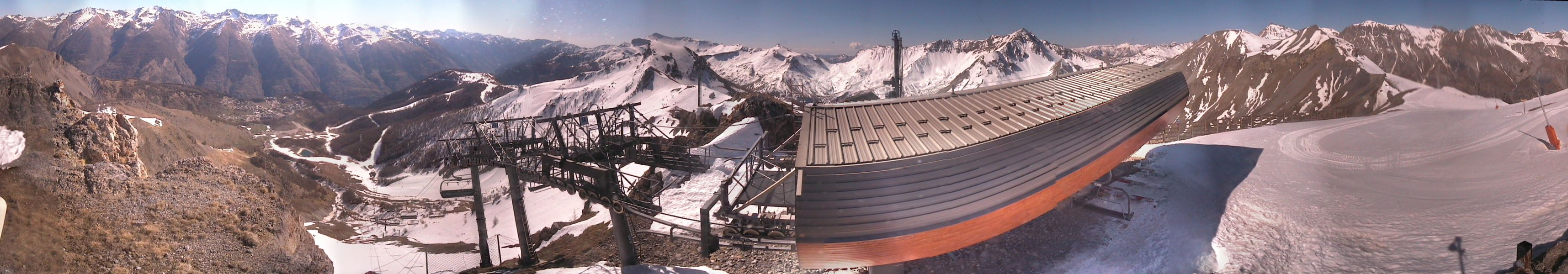 Webcam panoramique de Chavalet (Dôme) à Auron