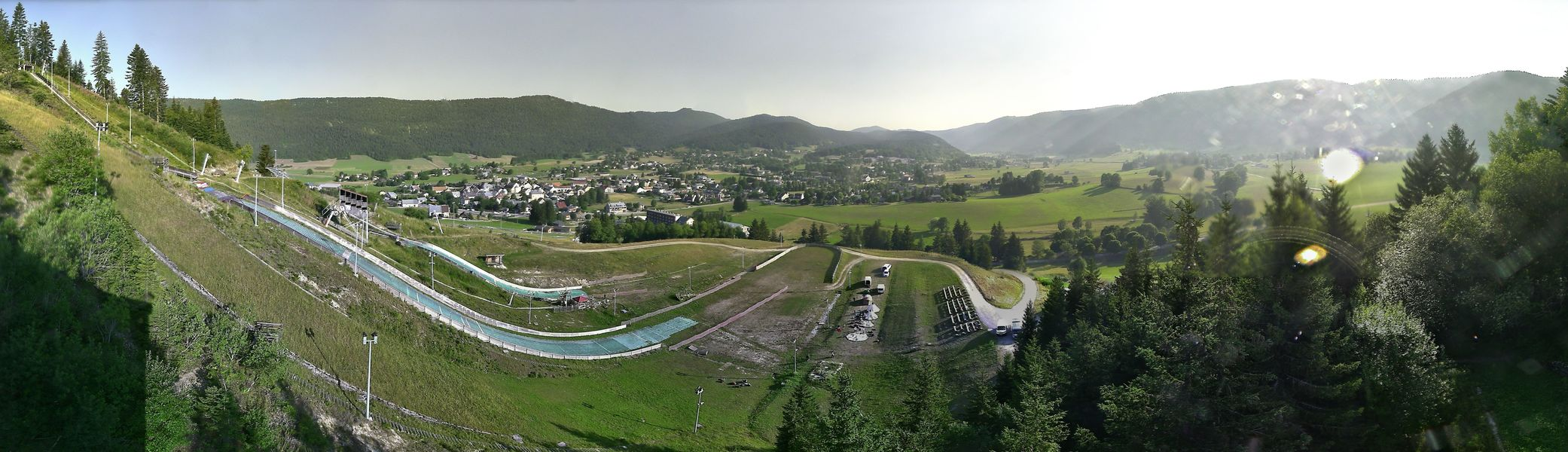 Webcam Autrans - Tremplin et Village - 1050m