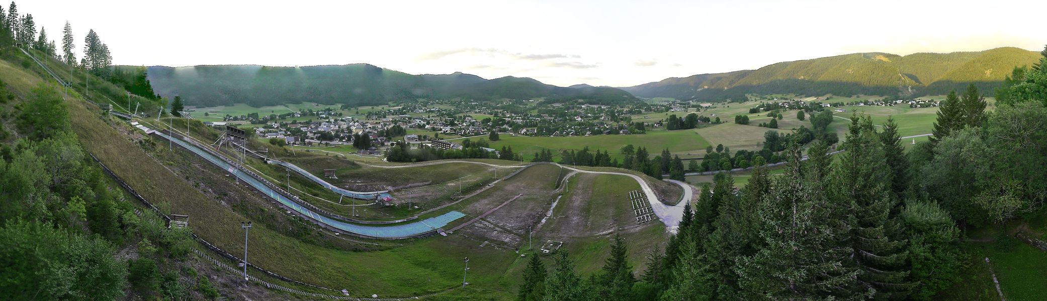 Webcam Autrans - station et tremplin olympique