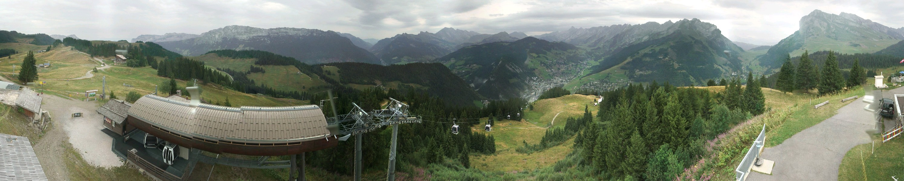 Webcam Panoramique la clusaz