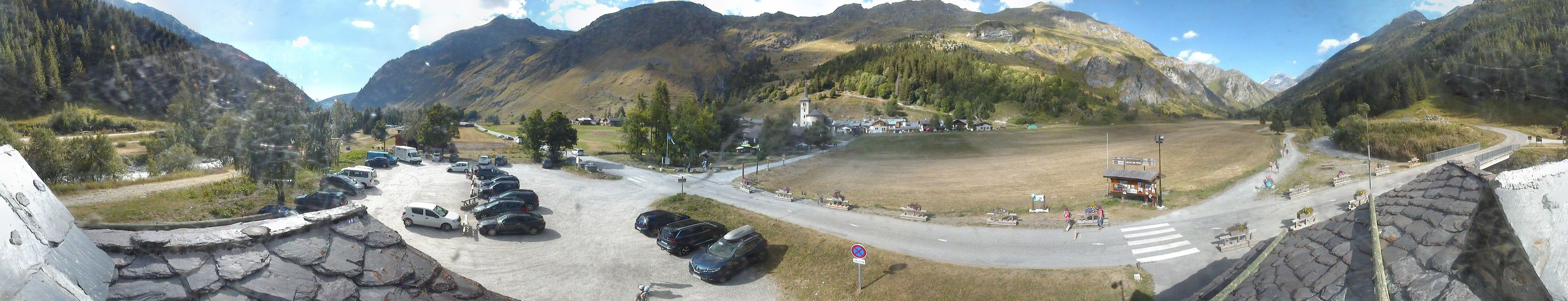 webcam panoramique Champagny En Vanoise