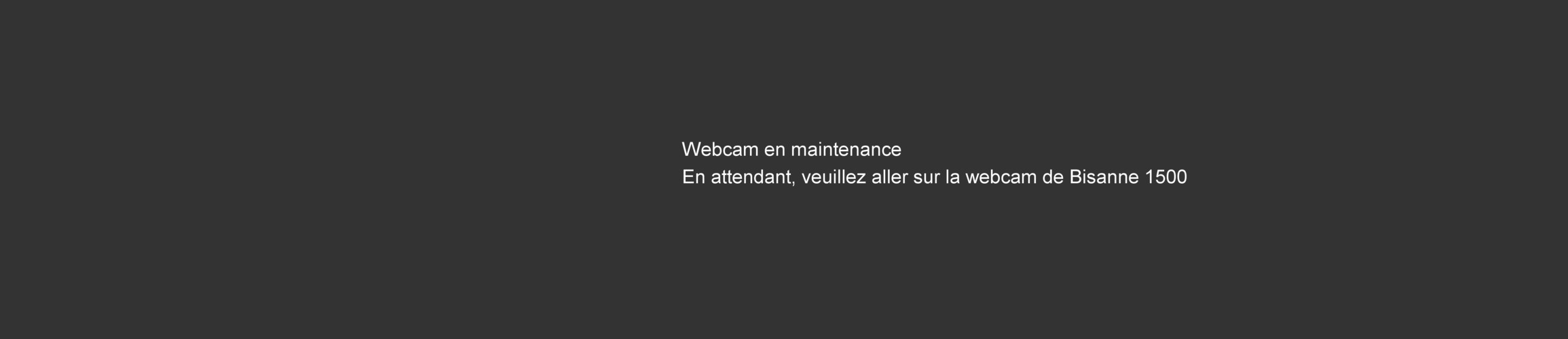 Webcam - Les Saisies