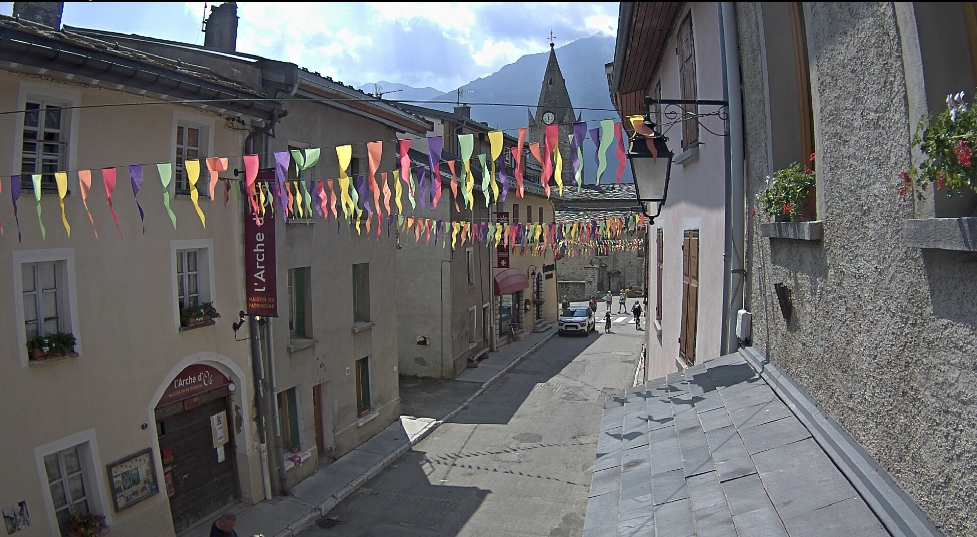 Webcams des Alpes