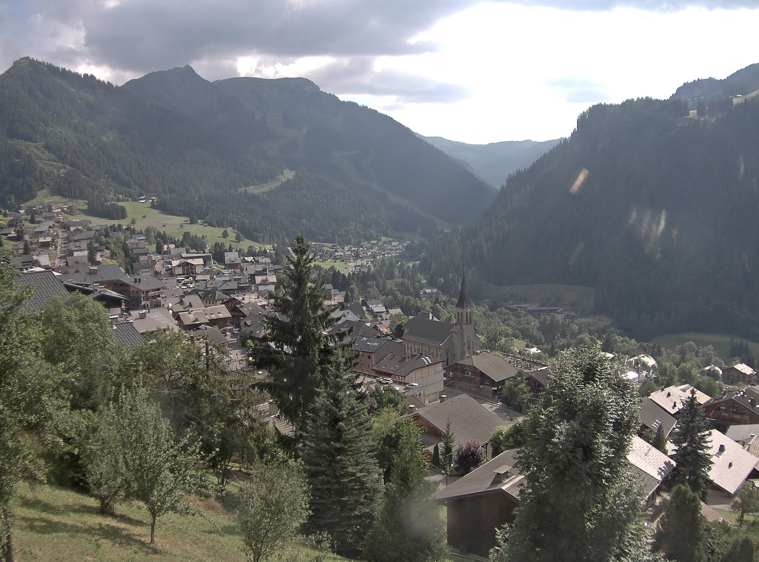 webcam Chatel - village