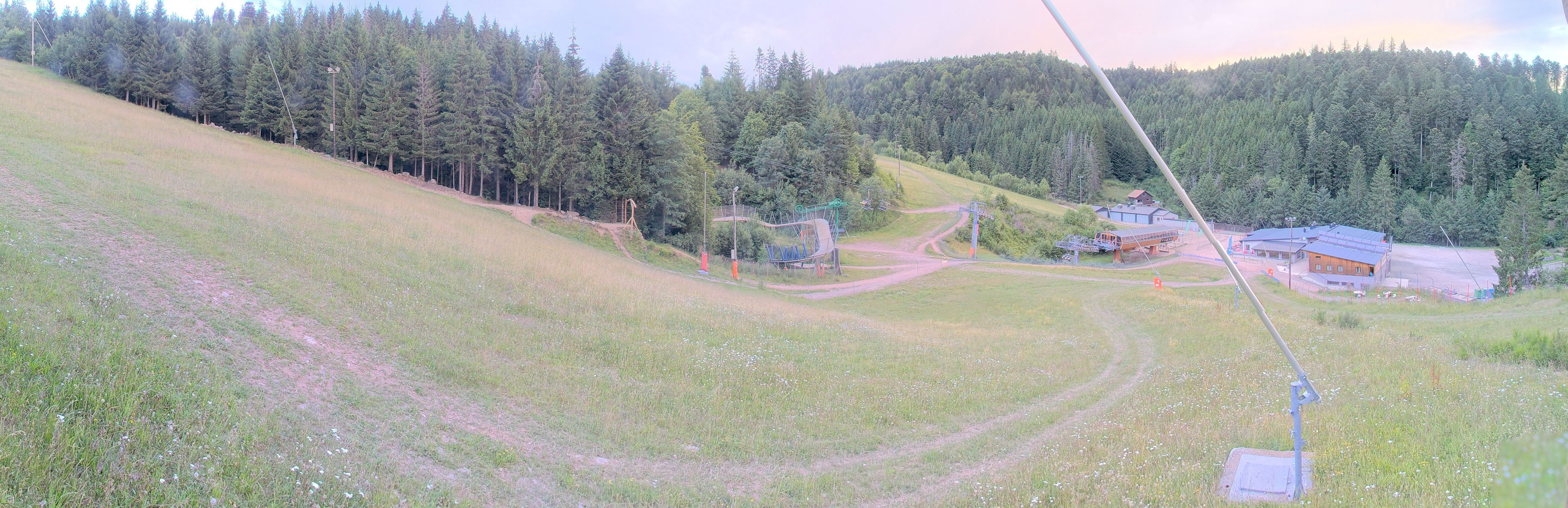 Enneigement station de ski dans les Vosges