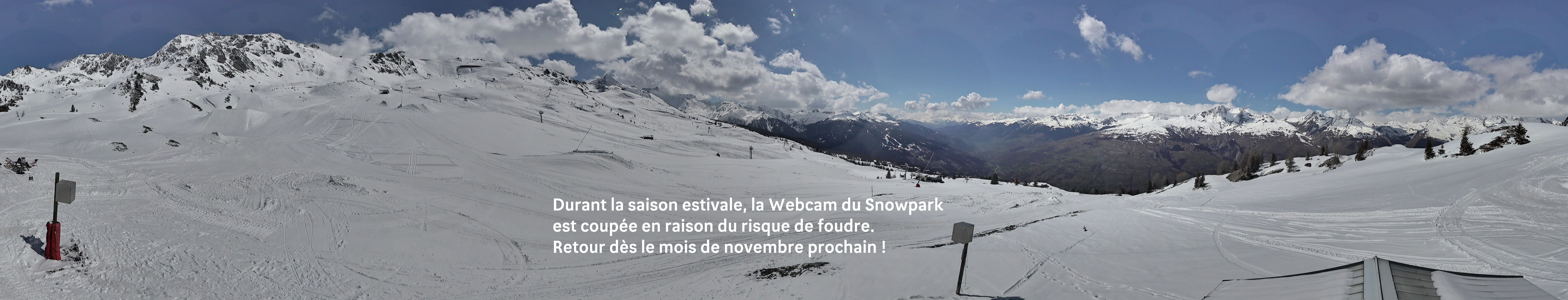 Webcam Snowpark Les Arcs