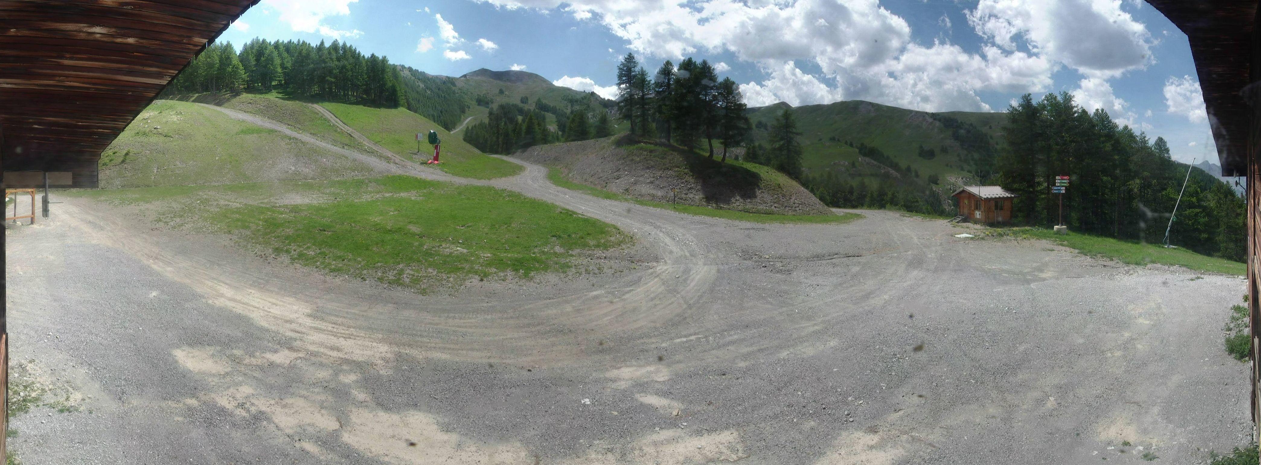 Vue panoramique sommet du Lac