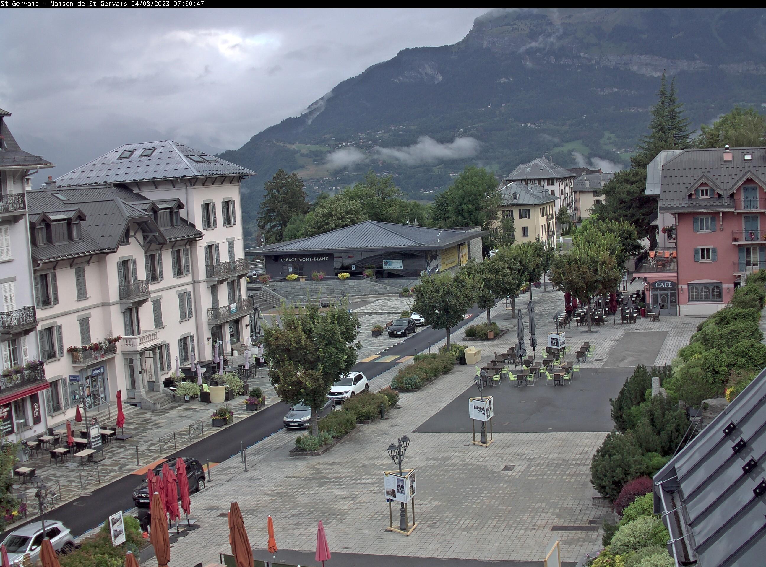 Webcams saint gervais mont blanc montagne glisse - Office de tourisme saint gervais les bains ...
