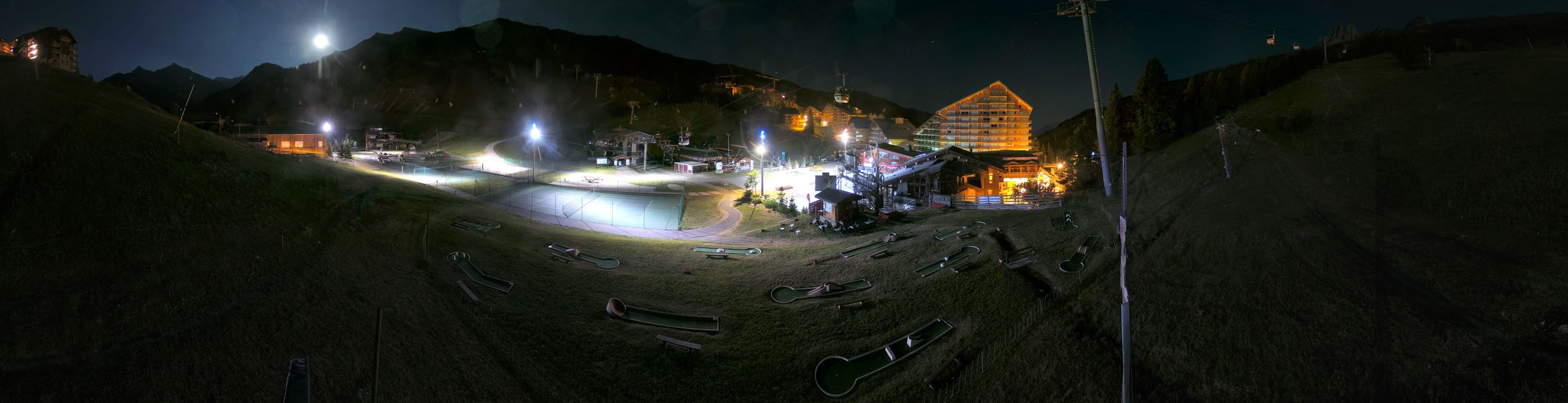 Webcam - Meribel Mottaret - Le Front De Neige - 1750 m