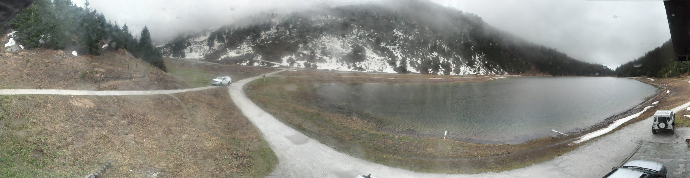 Meribel webcam Lac de Tueda