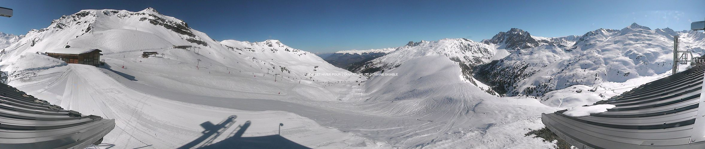 Webcam - Meribel Mottaret - Plattières - 2426 m