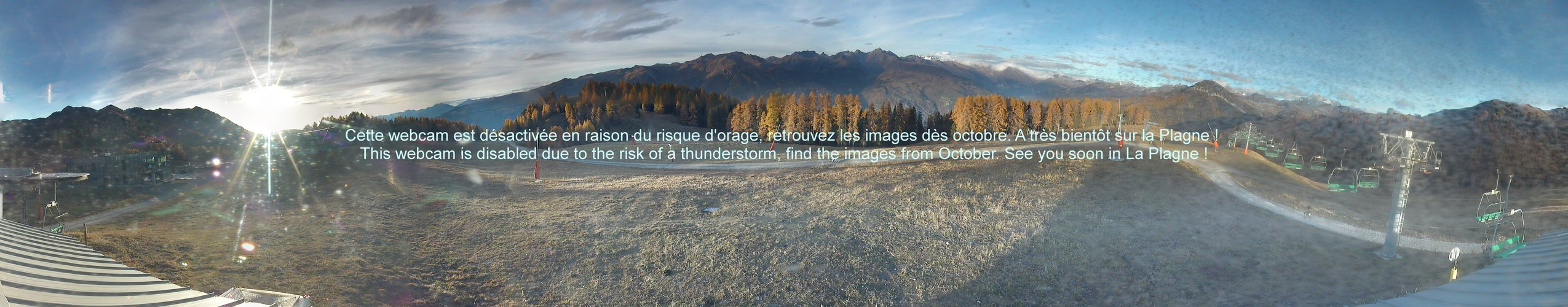 Webcam 2 - La Plagne