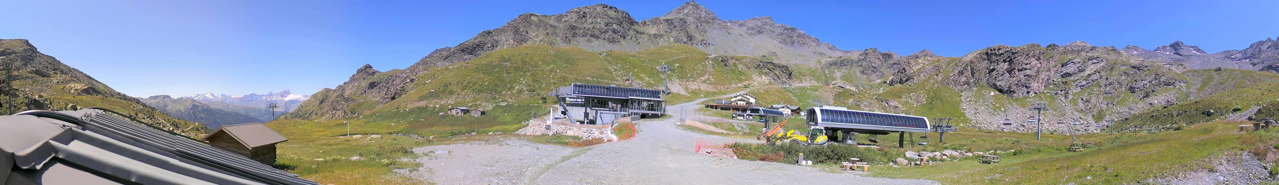 Arrivée de la télécabine - 2375 m