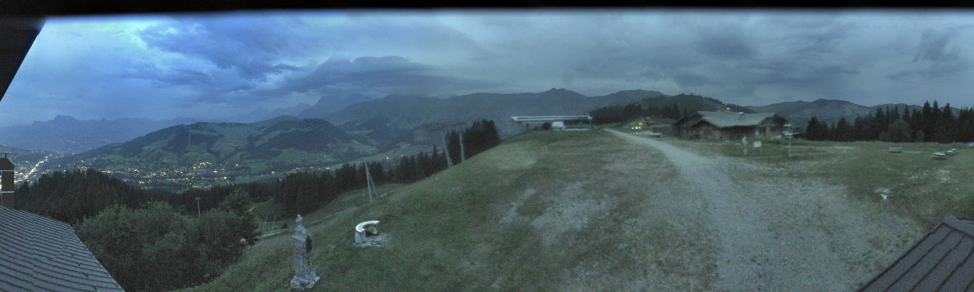 Webcam Megeve Roche Brune