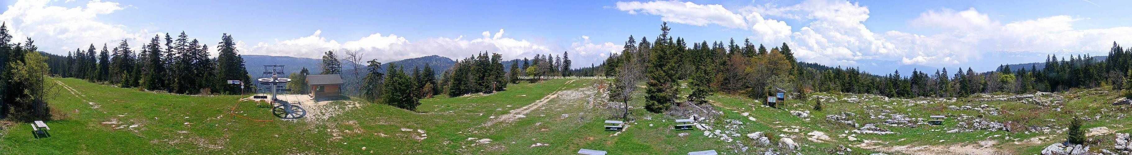 Webcam de Sommet domaine alpin Autrans Alt.1610m