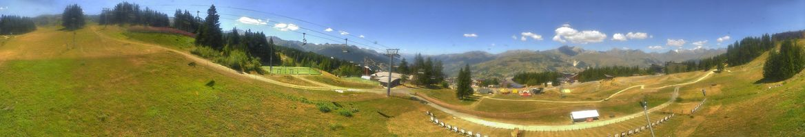 Webcam Les Arcs - Arc 1.800