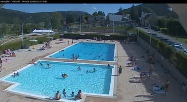 Webcam de Foyer ski de fond Méaudre Alt. 986m