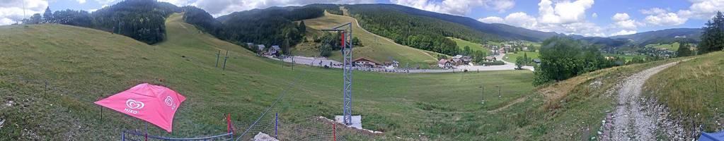 Webcam de Front de Neige ski alpin Méaudre Alt1000