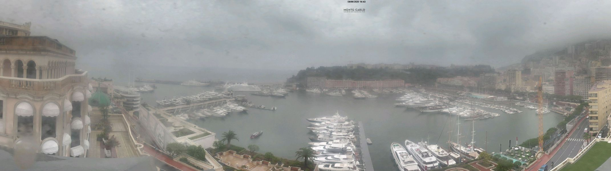 Webcam Monaco Port Hercule