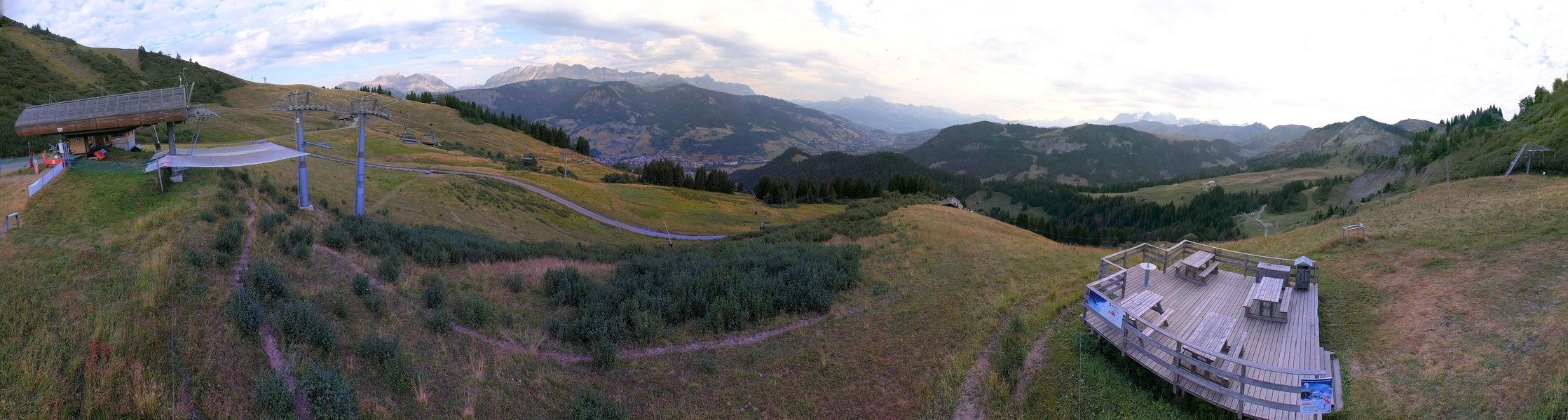 webcam panoramique Praz Sur Arly