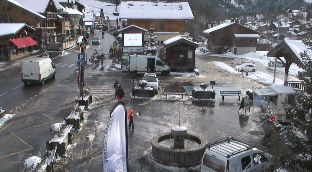 Les Contamines Webcam - Les Contamines Village