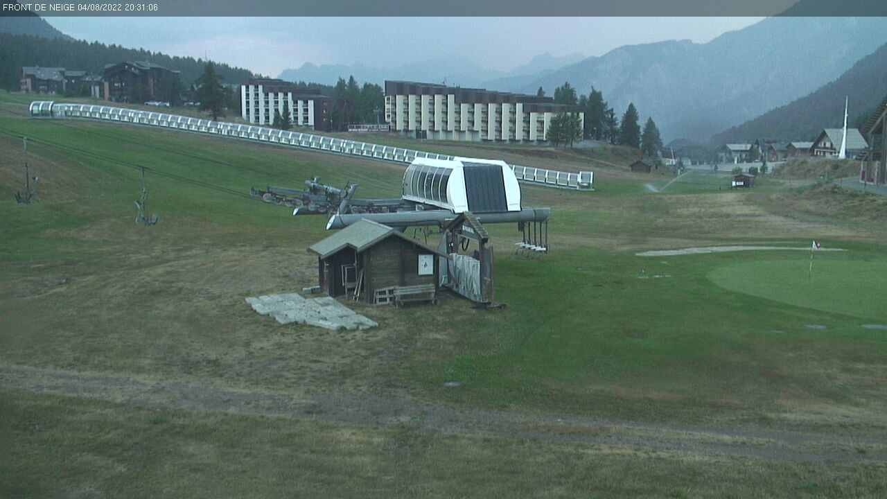 webcam piste de luge monty express