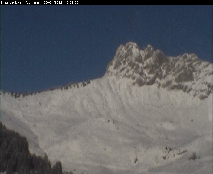 Praz de Lys & Sommand Webcam