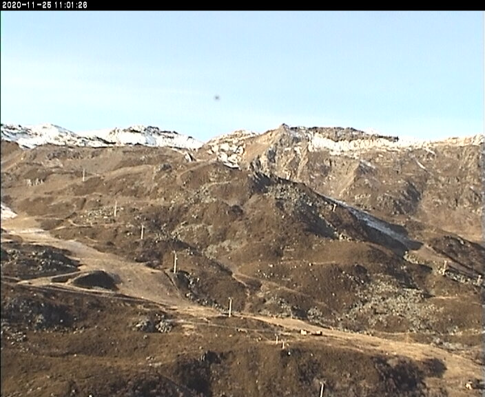 Webcam en Les Menuires - Piste Masse, Les 3 Vallees (Alpes Franceses)