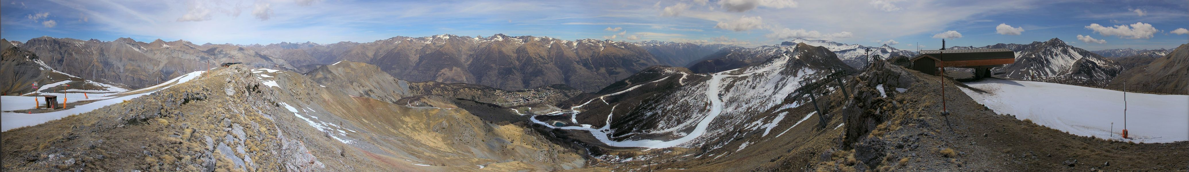 Webcam Auron Cime de Chevalet
