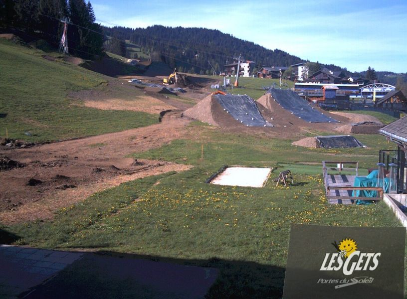 Les Gets webcam — Portes du Soleil, France