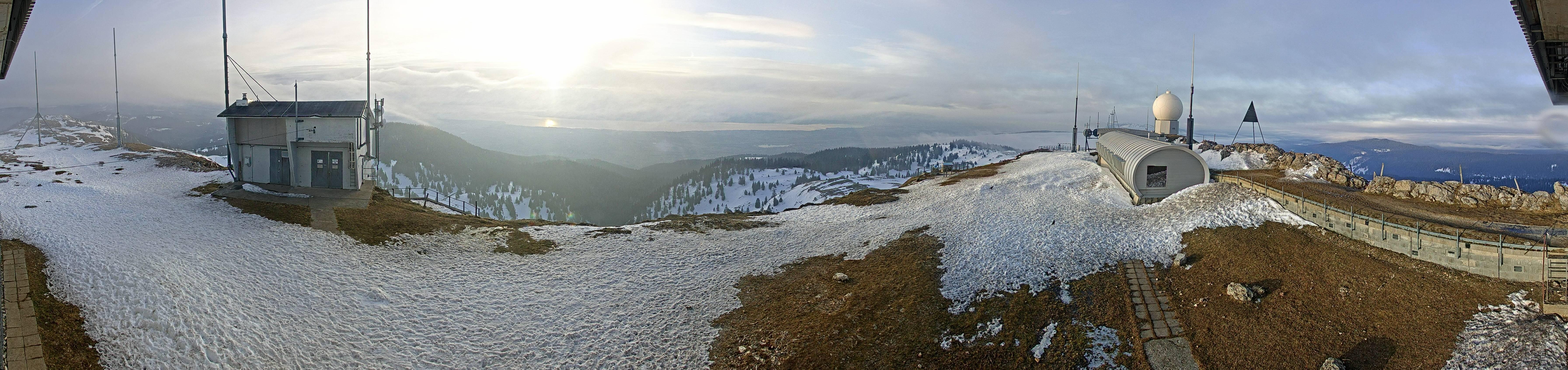 webcam La Dôle - Vue sur les Alpes