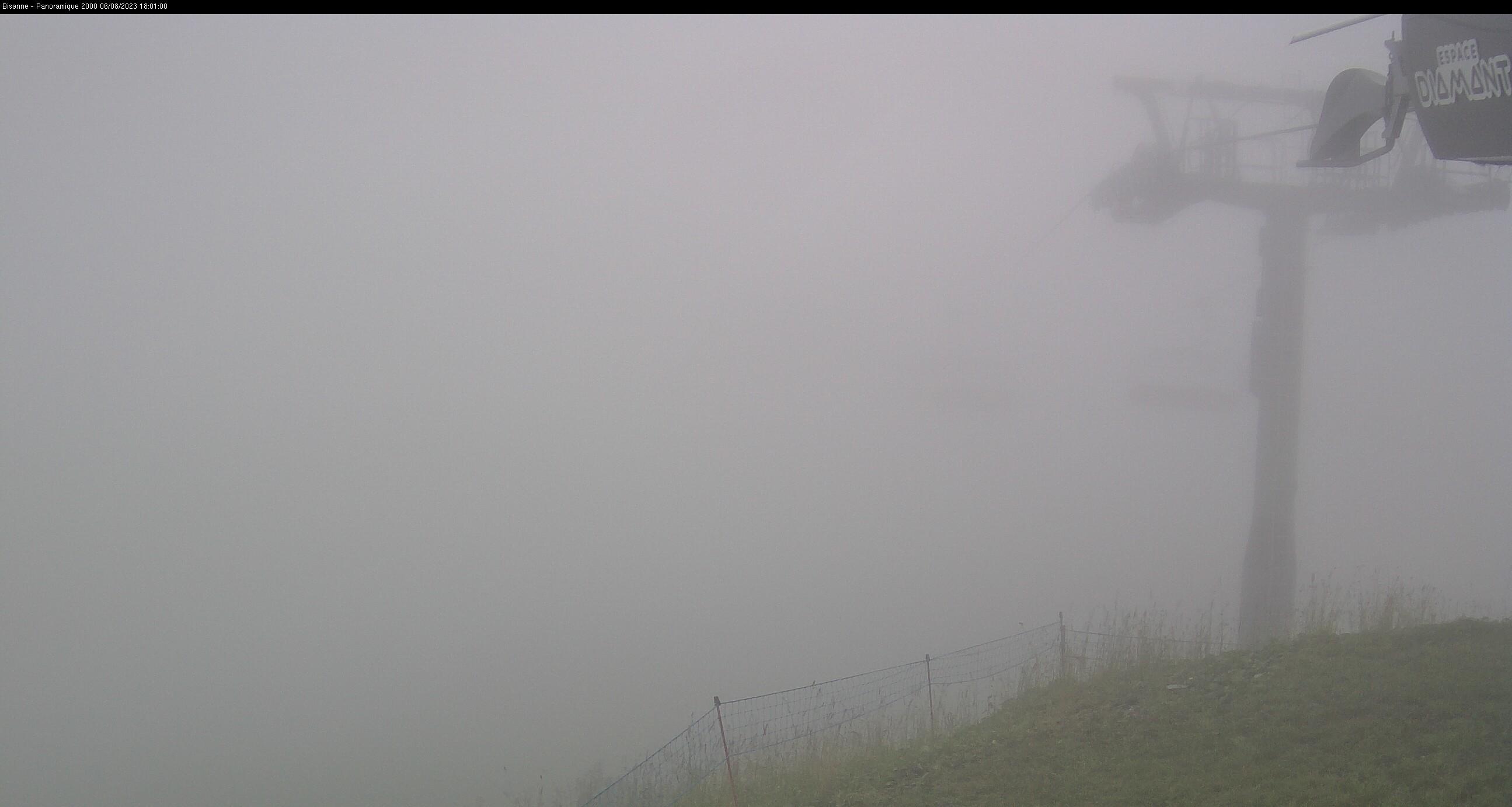 Mont-Blanc du sommet du Bisanne