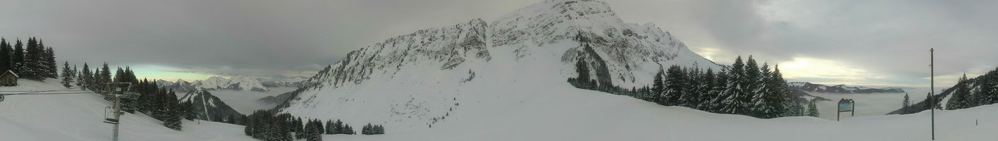 Webcam Panorama Col de Graydon