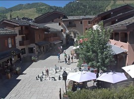 small valmorel village