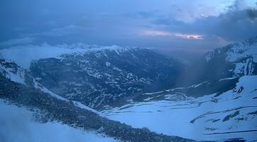Vignette - Col de Crévoux 2550m - Vue depuis Vars