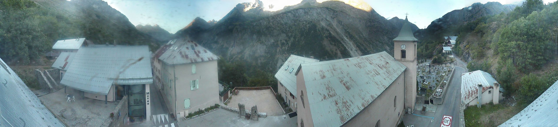 Image panoramique caméra St Christophe en Oisans