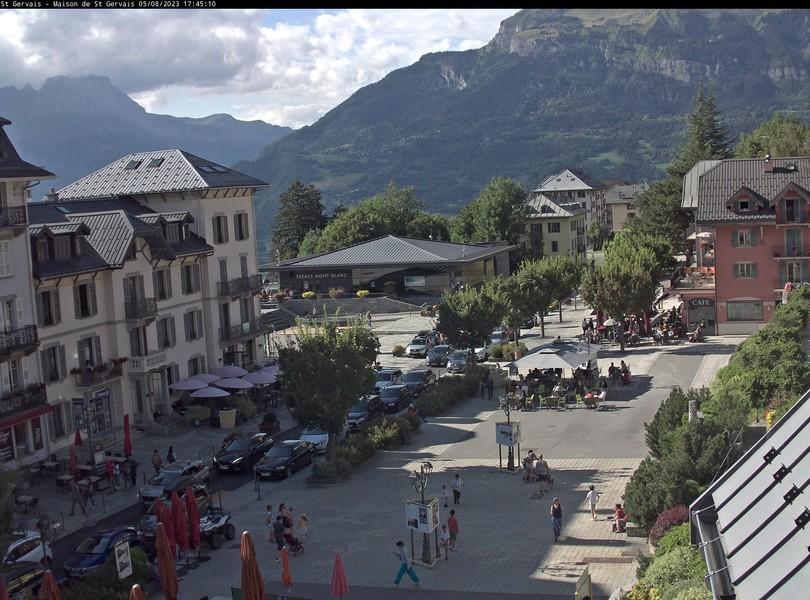 webcam Saint Gervais-Mont Blanc
