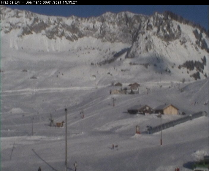 webcam Praz de Lys-Sommand